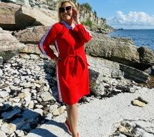 SVB punane kleit